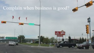 Drive By Traffic - Business is Good